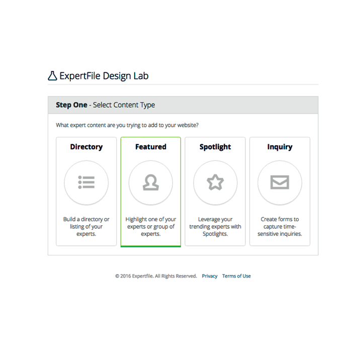 ExpertFile Design Lab